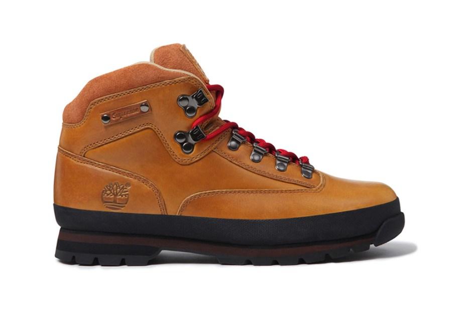 Image of Supreme x Timberland Euro Hiker Boot