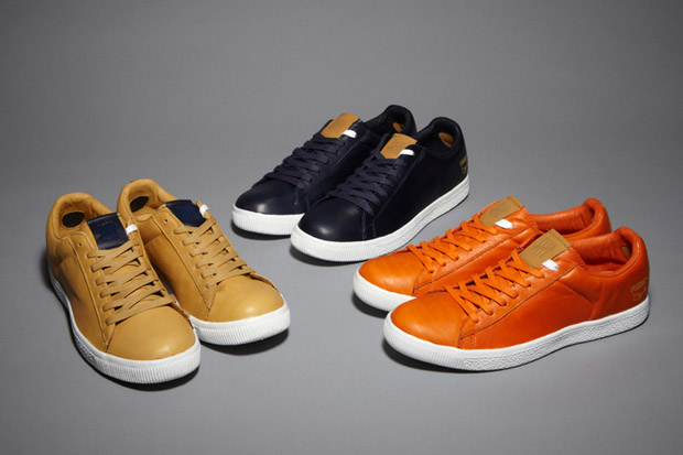 Image of Undefeated x PUMA Clyde Stripe-Off Pack