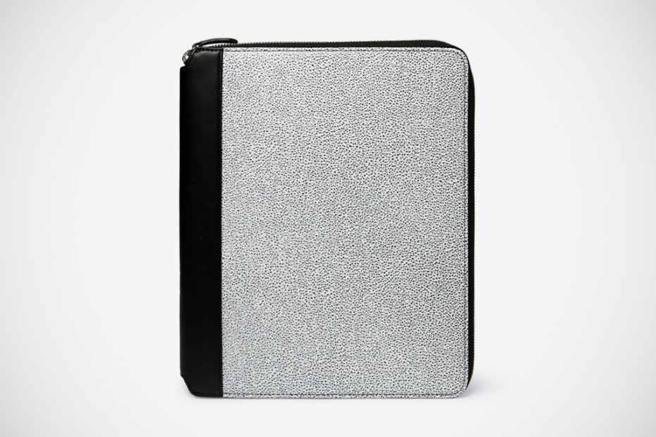 Image of WANT Les Essentiels de la Vie Narita Textured Leather iPad 2 Case