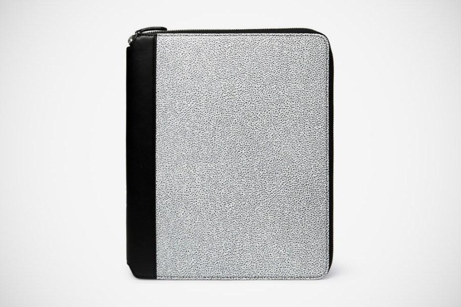Image of WANT Les Essentiels de la Vie Narita Textured Leather iPad 2 Case