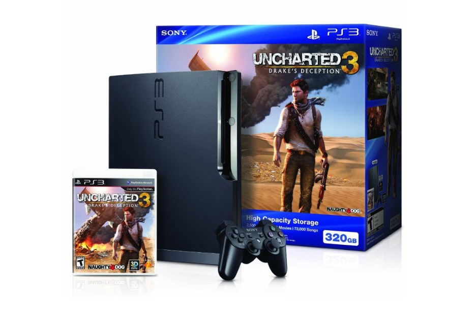 Image of Win a 320GB PlayStation 3 Uncharted 3 Bundle!
