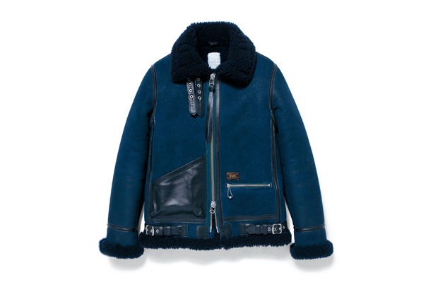Image of WTAPS B-3 Sheepskin Jacket