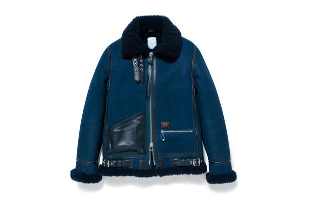 Image of WTAPS B-3 Sheepskin Jacket
