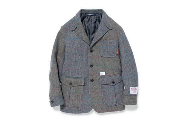 Image of Harris Tweed x WTAPS BULLITT / JACKET