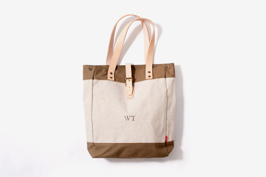 Image of WTAPS Canvas Tote Bag