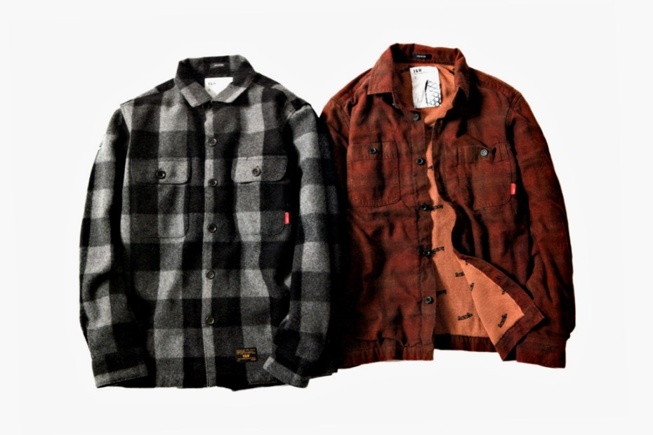 Image of WTAPS x Vans Syndicate V&W Jackets