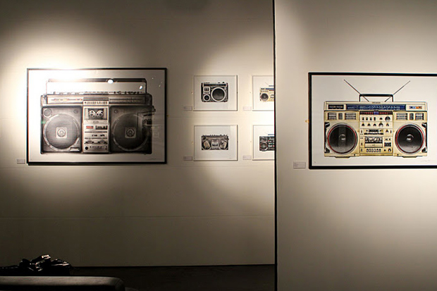 "Image of XOYO & The Whisper Gallery Present: ""The Boombox"" by Lyle Owerko Exhibition Recap"