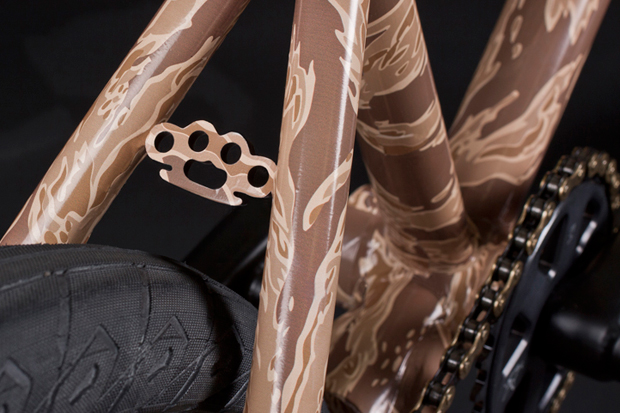 Image of 10.Deep x Animal Tiger Camo BMX Bike
