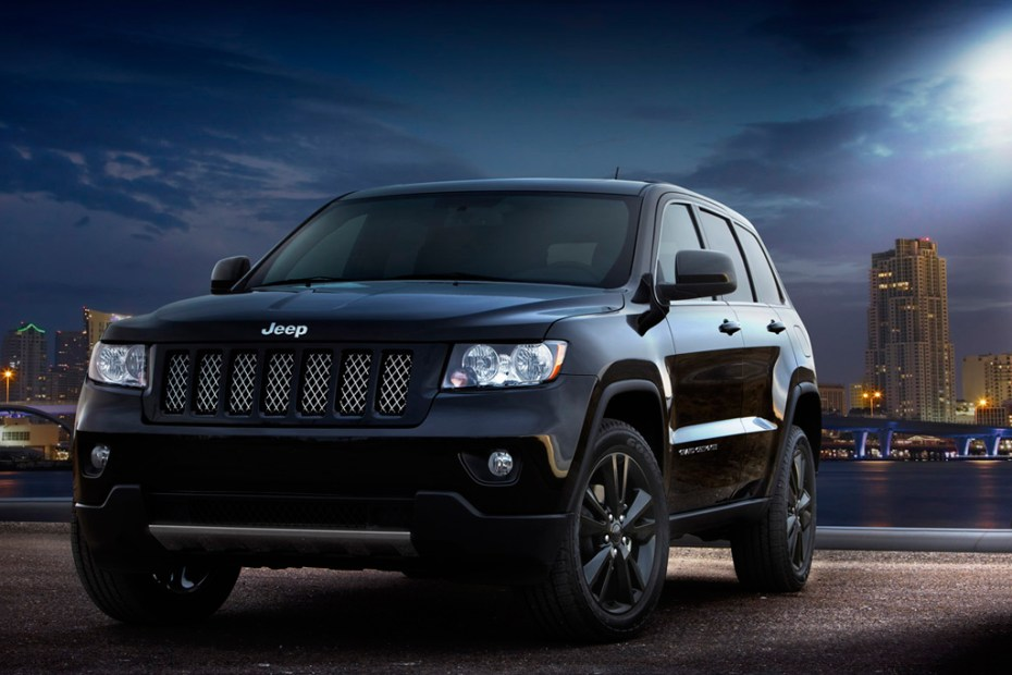 Image of 2012 Jeep Grand Cherokee All-Black Edition