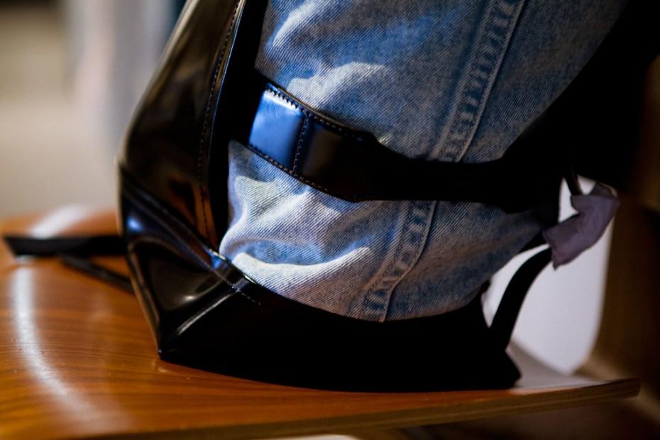 Image of 3.1 Phillip Lim 2012 Spring/Summer Washed Denim Backpack