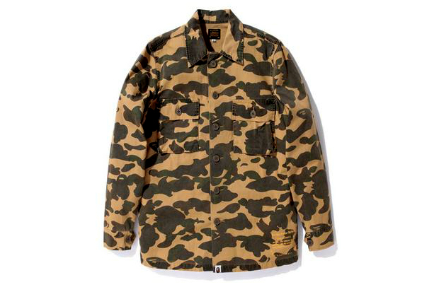 Image of A Bathing Ape 1ST CAMO ARMY SHIRT