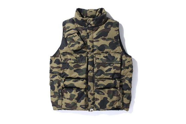 Image of A Bathing Ape 1ST CAMO C-1 DOWN VEST