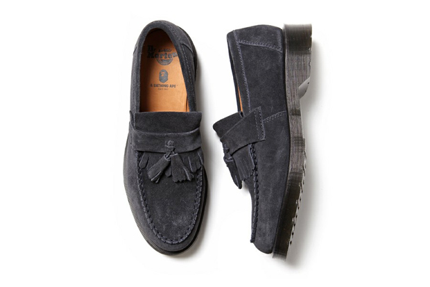 Image of A Bathing Ape x Dr. Martens Tassel Loafer
