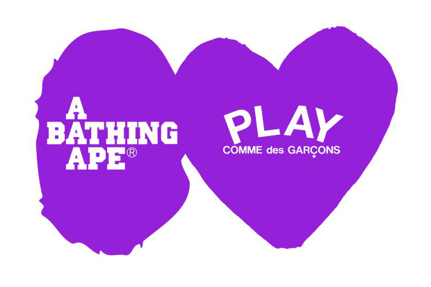 Image of A Bathing Ape x PLAY COMME des GARCONS Capsule Collection Announcement