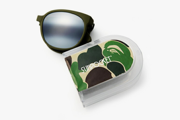Image of A Bathing Ape x Sunpocket Sunglasses