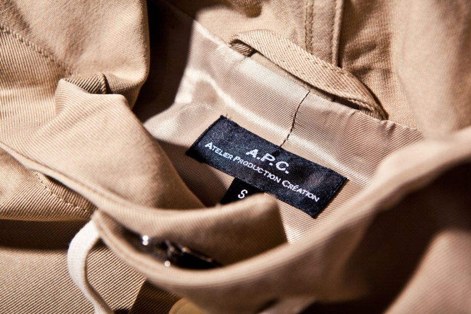 Image of A.P.C. 2012 Spring/Summer Parka