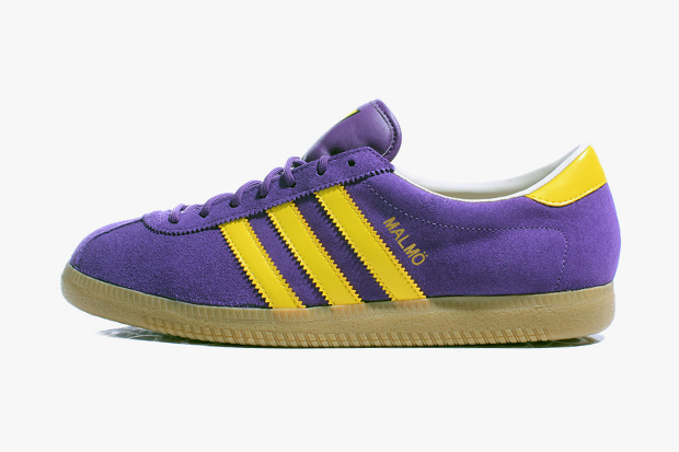 Image of adidas Originals 2012 Spring Malmö Purple/Yellow