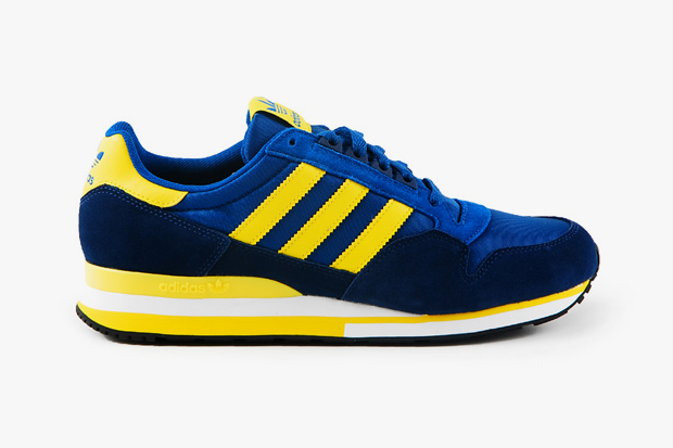 Image of adidas Originals 2012 Spring ZX 500 Blue/Yellow