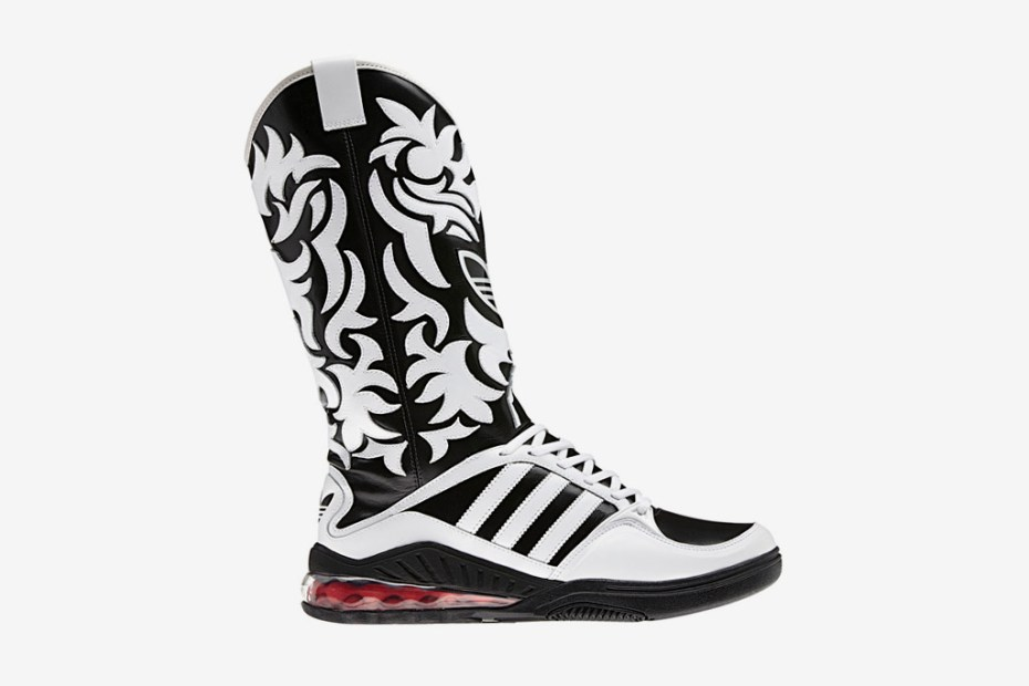 Image of adidas Originals by Originals Jeremy Scott JS Mega Softcell Cowboy Boots