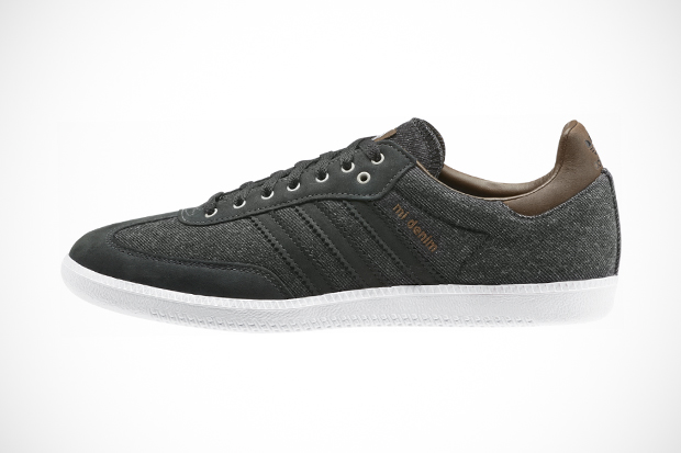 Image of adidas Originals mi Samba: Denim Option