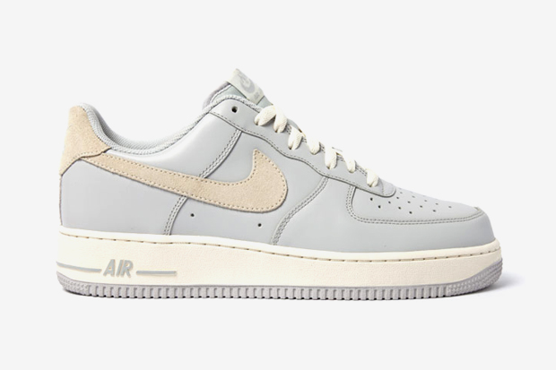 Image of Nike Air Force 1 Grey/Cashmere