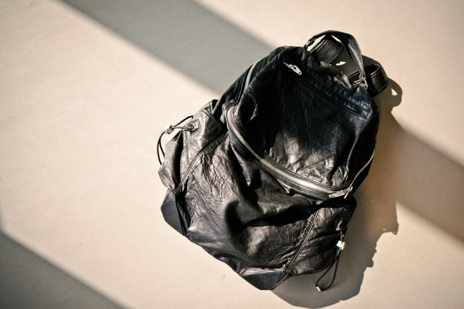 Image of Alexander Wang 2012 Spring/Summer Leather Backpack