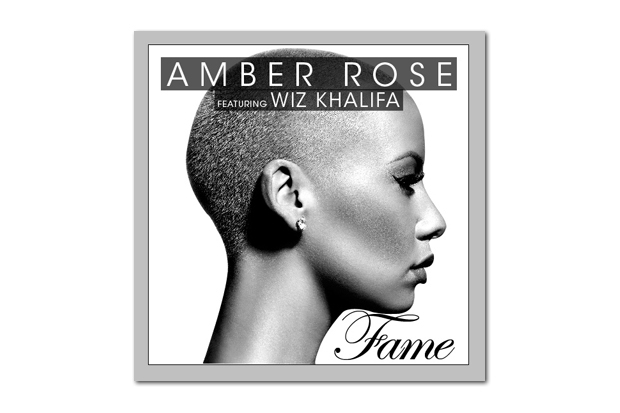 Image of Amber Rose featuring Wiz Khalifa - Fame