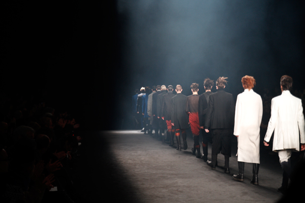 Image of Ann Demeulemeester 2012 Fall/Winter Collection