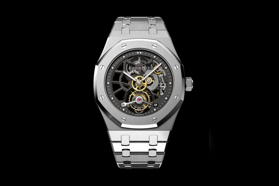 Image of Audemars Piguet 40th Anniversary Royal Oak Openworked Extra-Thin Tourbillon