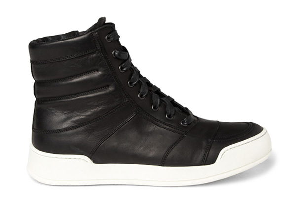 Image of Balmain 2012 Spring/Summer Leather High-Top Sneaker