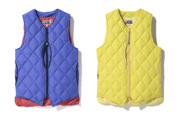 Image of A Bathing Ape PERTEX NYLON DOWN VEST