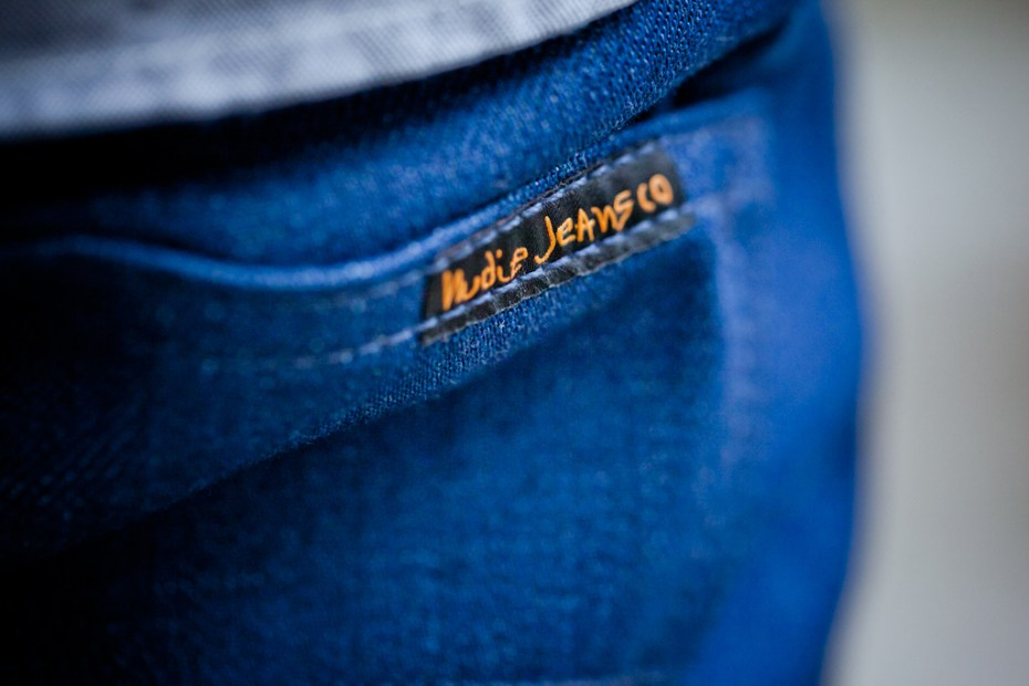"Image of Barneys NYC x Nudie Jeans ""Post Recycle Dry"" Denim"