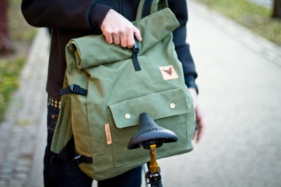 Image of Blind Chic Rolltop Backpack
