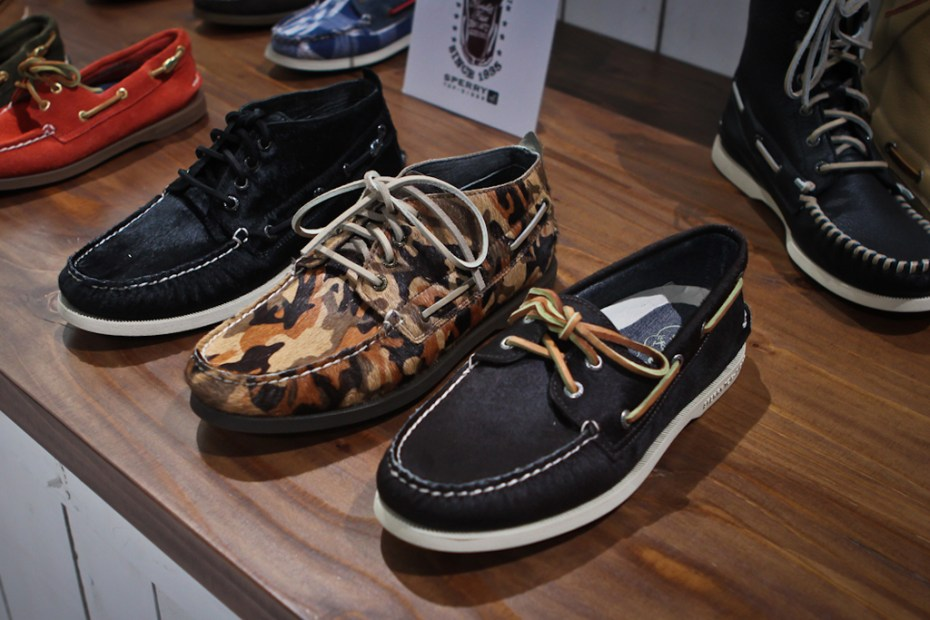 Image of Bread & Butter: Sperry Top-Sider 2012 Fall/Winter Collection Preview