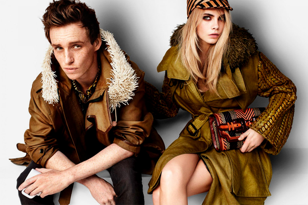 Image of Burberry Prorsum 2012 Spring/Summer Campaign