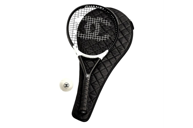 Image of Chanel French Cane &amp; Tennis Racket Set