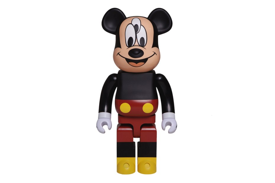 Image of CLOT & Disney x Medicom Toy 3-Eyed Mickey Bearbrick 1000%