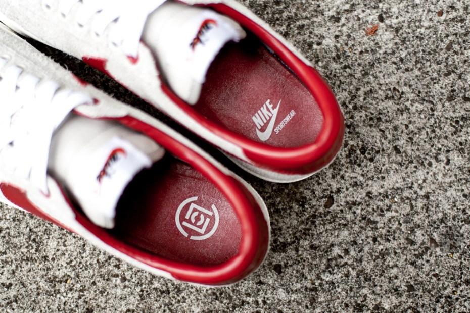 Image of CLOT x Nike Tennis Classic Suede Further Look