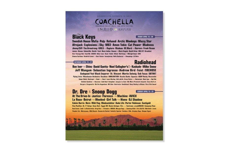 Image of Coachella Announces 2012 Lineup