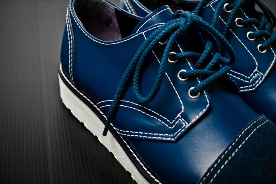 Image of COMME des GARCONS HOMME 2012 Spring/Summer Leather Oxford