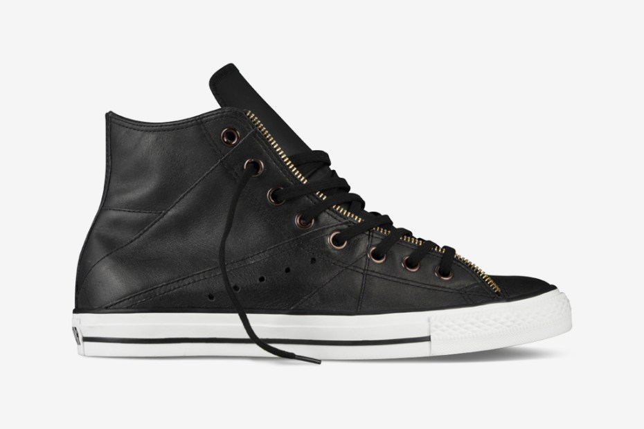 Image of Converse Chuck Taylor All Star Moto Leather Jacket