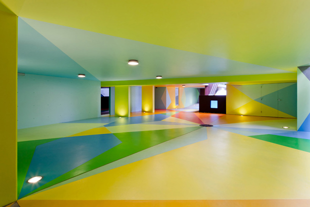 "Image of Craig & Karl: ""72DP"" Underground Car Park in Sydney"