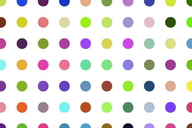 Image of Damien Hirst Spot Prints Launch Event