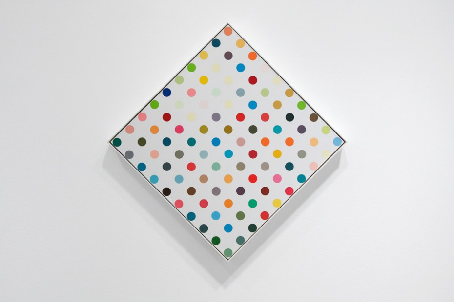 "Image of Damien Hirst ""The Complete Spot Paintings 1986-2011"" @ Gagosian Gallery Recap"