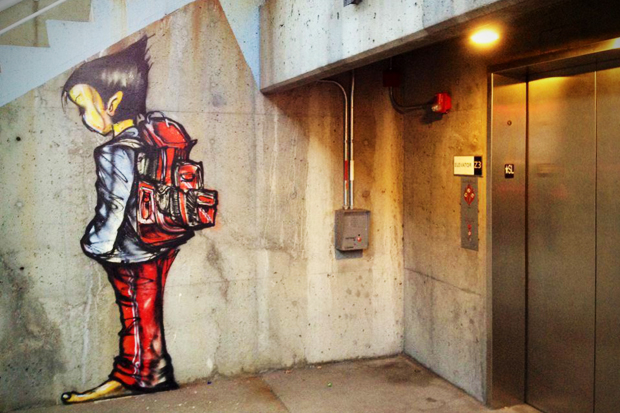 Image of David Choe Immortalizes Beat Up Chicago Teenager
