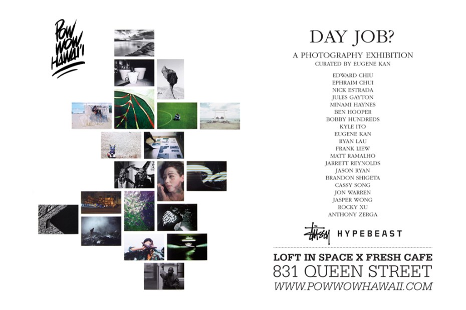 Image of Day Job? POW WOW Hawai'i 2012 Photo Exhibition @ Loft in Space