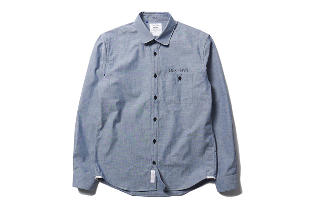 "Image of Deluxe x HAVEN 5 Year Anniversary ""Hamilton"" Chambray Shirt"