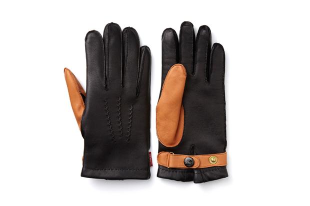 Image of NEXUSVII x Dents Leather Gloves