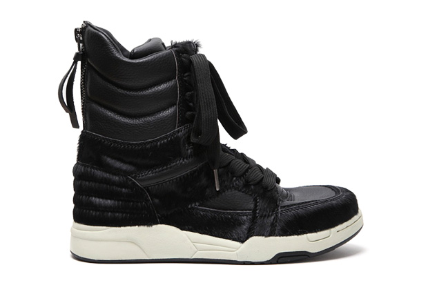 Image of Diet Butcher Slim Skin Horse Hair High Top Sneaker