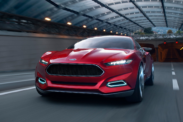 Image of Ford EVOS Concept with SYNC-Controlled Apps